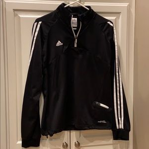Adidas Women's Black jacket long sleeve sz Large